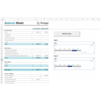 Balance Sheet Excel Refreshable Report - Dynamics GP