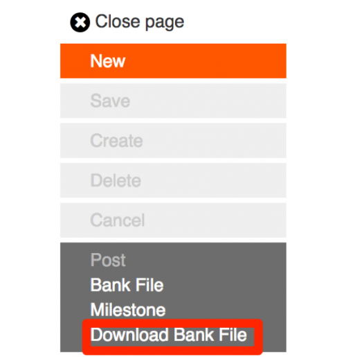 Download Bank File Button - Sage X3 Customisation
