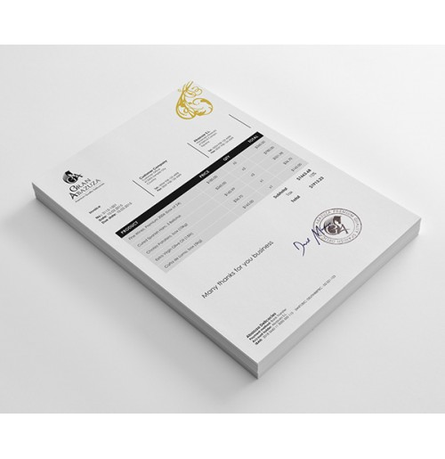 Professional Sales Return (Credit Note) Template Design - Sage X3