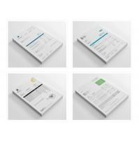 Modern Invoice Template Pack - Dynamics GP