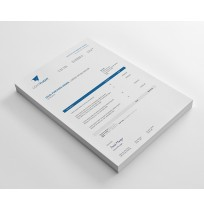 Clean and Modern Purhase Order Template Design - Sage X3