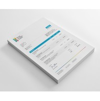 Modern and Creative Sales Invoice Template Design - Dynamics GP